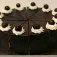 Čokoladová torta s višnami